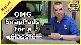 RV SnapPads - 👍The Easiest Install for the Best RV Upgrade👍 - Bigfoot Leveling Jacks - How To