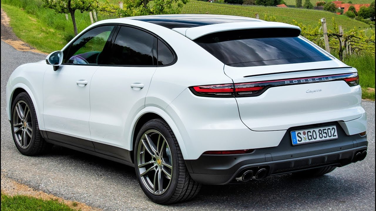 2020 White Porsche Cayenne Coupe , Luxury Performance SUV