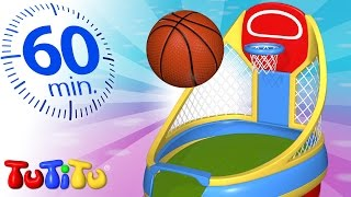 TuTiTu Specials | Basketball | Other Popular Toys For Children | 1 HOUR Special