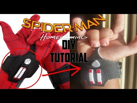 DIY Spider-man Homecoming Web Shooter Tutorial