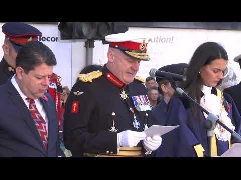Gibraltar marks Armistice Day 100 years on - 12.11.18