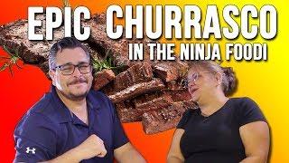 HOW TO COOK AN AMAZING CHURRASCO STEAK (FLAP MEAT) IN THE NINJA FOODI | Salty Tales