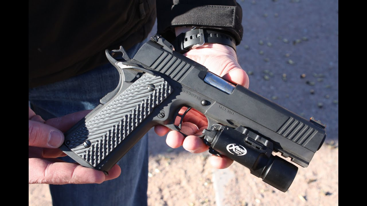 rock island 10mm tactical vz 2011 shot show 2013 youtube