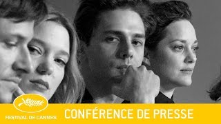 JUSTE LA FIN DU MONDE - Press Conference - EV - Cannes 2016