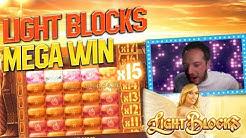MEGA MERKUR WIN -  LIGHT BLOCKS SLOT!!