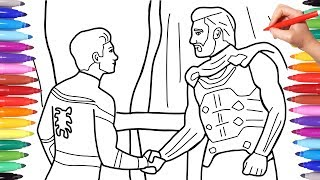spiderman-far-from-home-coloring-book-spiderman-and-mysterio-handshake