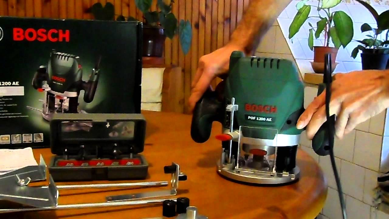 Bosch pof 1200 ae youtube greentooth