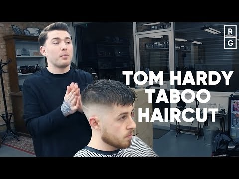 Tom Hardy Taboo Hair - How To Get The Haircut, Beard & Style!!
