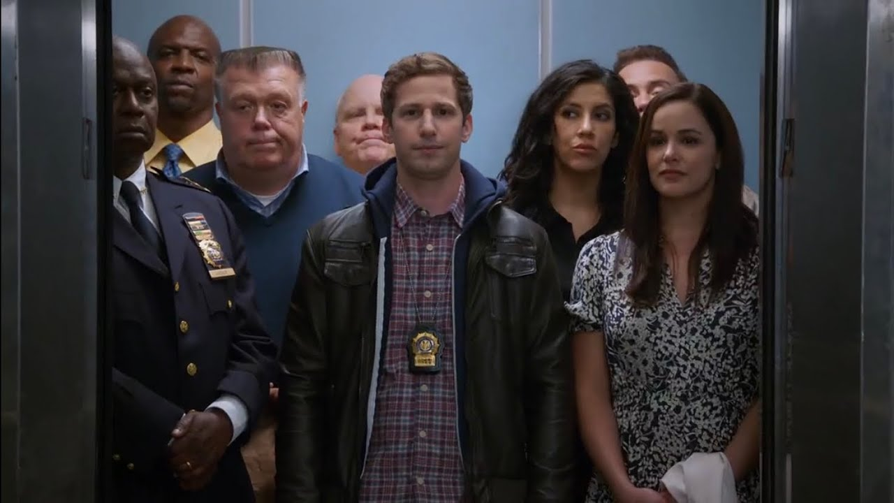 Download The Squad Leave The 99 For The Final Time | Brooklyn 99 Season 8 Episode 9/10