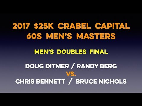 Tennis Doubles Strategy - 2017 $25k Crabel Masters Doubles Final