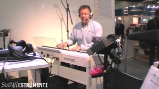 musikmesse 2013 roland fp 80 demo by john maul