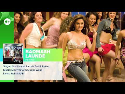 Badmash Launde   Full Audio Song   Heroes   Salman Khan, Sunny Deol, Bobby Deol & Preity Zinta 2