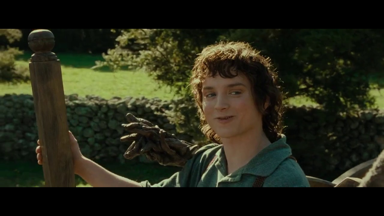 """""""All right then, keep your secrets."""" - Frodo Baggins - YouTube"""