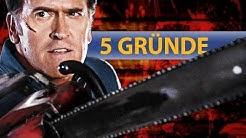 Horror, Gore und Trash! - 5 Gründe sich Ash VS Evil Dead anzusehen!