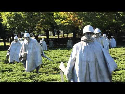 Foto's Korean War Veterans Memorial, Washington DC