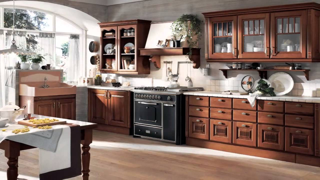 Cocina de madera youtube for Catalogo de cocinas integrales pdf