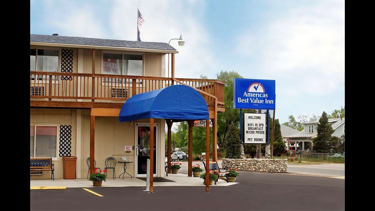 Americas Best Value Inn Park Falls Americas Best Value Inn Sheridan Sheridan Hotels Wyoming Youtube