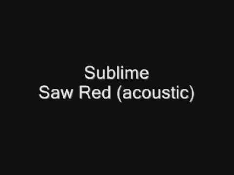 SublimeSaw Red acoustic