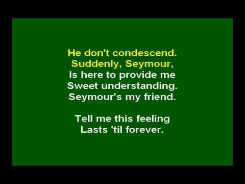karaoke - musical - Little Shop Of Horrors - Suddenly, Seymour-0