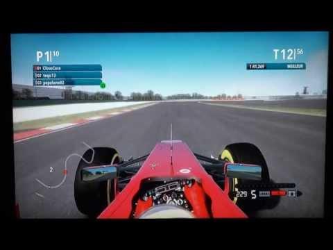 F1 2012 Online - Shanghai 100% - No Assists