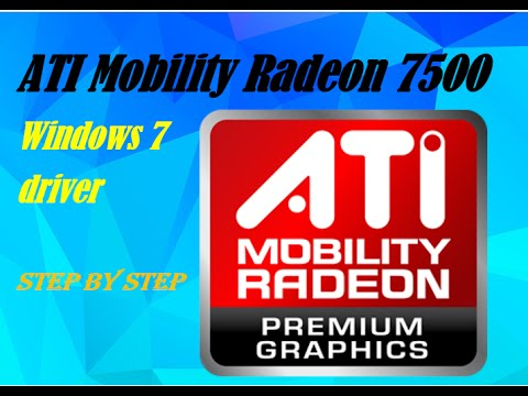 ATI MOBILITY RADEON 7500 DRIVERS WINDOWS