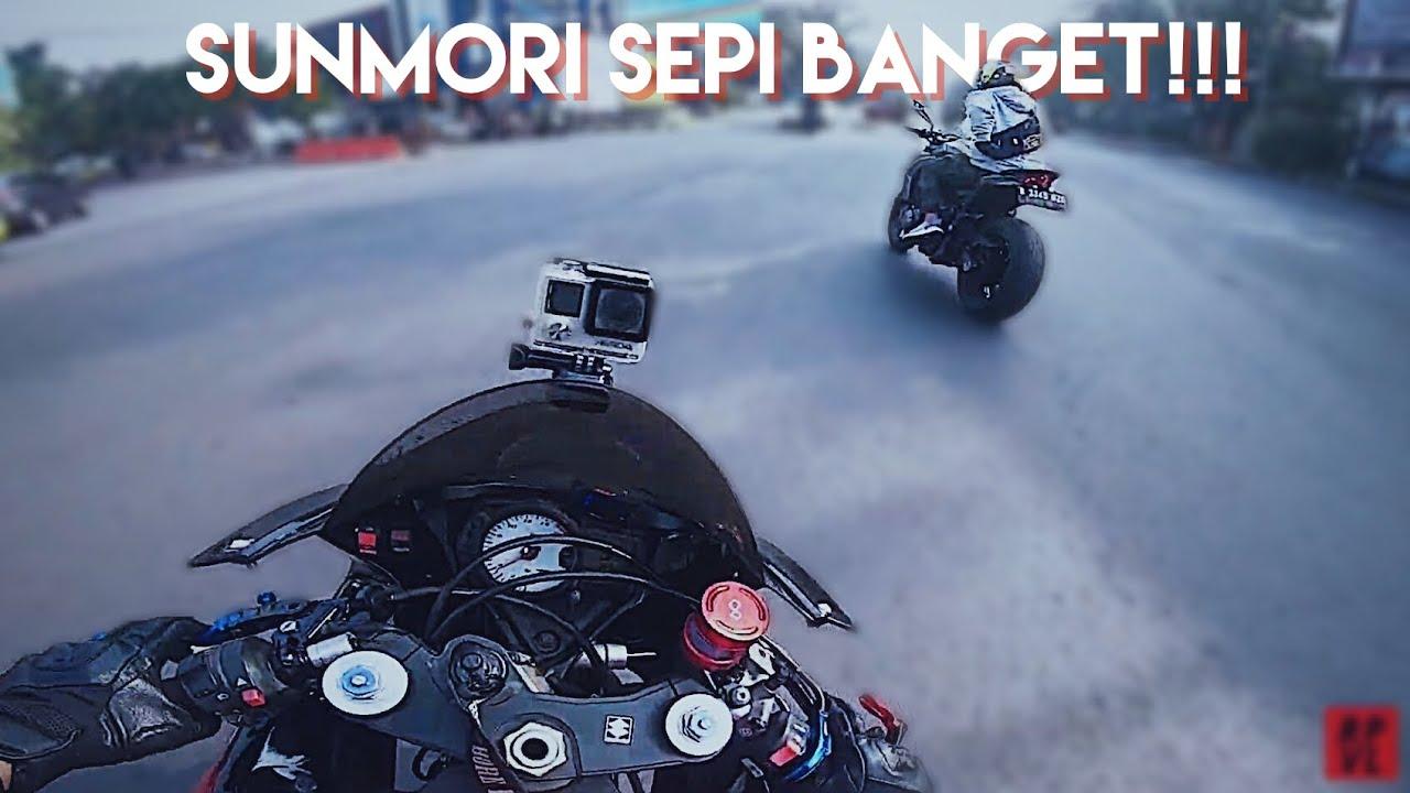 SUNMORI SEPI & GSX R750 vs Z1000 // #Ripvmovlog