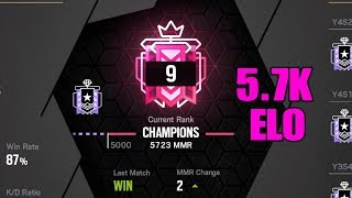 5.7k Elo in Operation Ember Rise: Ps4 Champion - Ranked Highlights - Go4 - Rainbow Six Siege