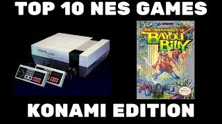 Top 10 Konami NES Games