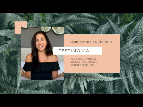 Amie's Experience: Healthy Living Program at Orion Healing Centre
