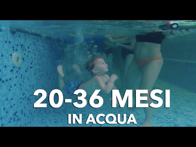 Nuoto Bimbi dai 20 ai 36 mesi || Acquaticità neonatale || Bambini in piscina