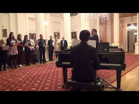 All Come All Ye Faithful - with Lord Mayor of London - Mansion House 2012