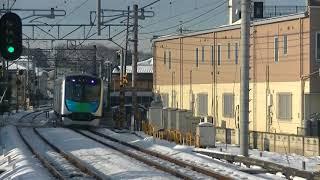 西武鉄道40103F 新宿線上り試運転 入曽到着