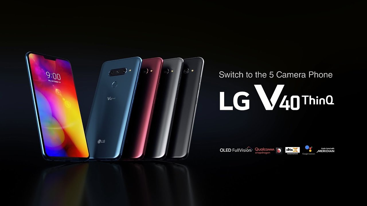 Lg Nederland Lg V40 Thinq Product Video