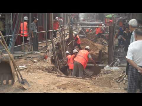 Street Construction in Beijing