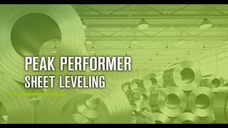 KOHLER – Part leveling machine Peak Performer – Leveling sheets in no time