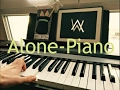 Alan Walker Alone Restrung piano Cover par Herem