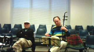 Erhu Solo Chinese High Difficulty Folk Song 金蛇狂舞 34 Golden Snake Crazy Dance 34