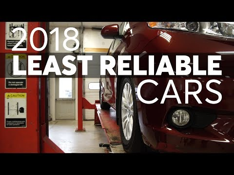 Least Reliable New Cars of 2018 | Consumer Reports