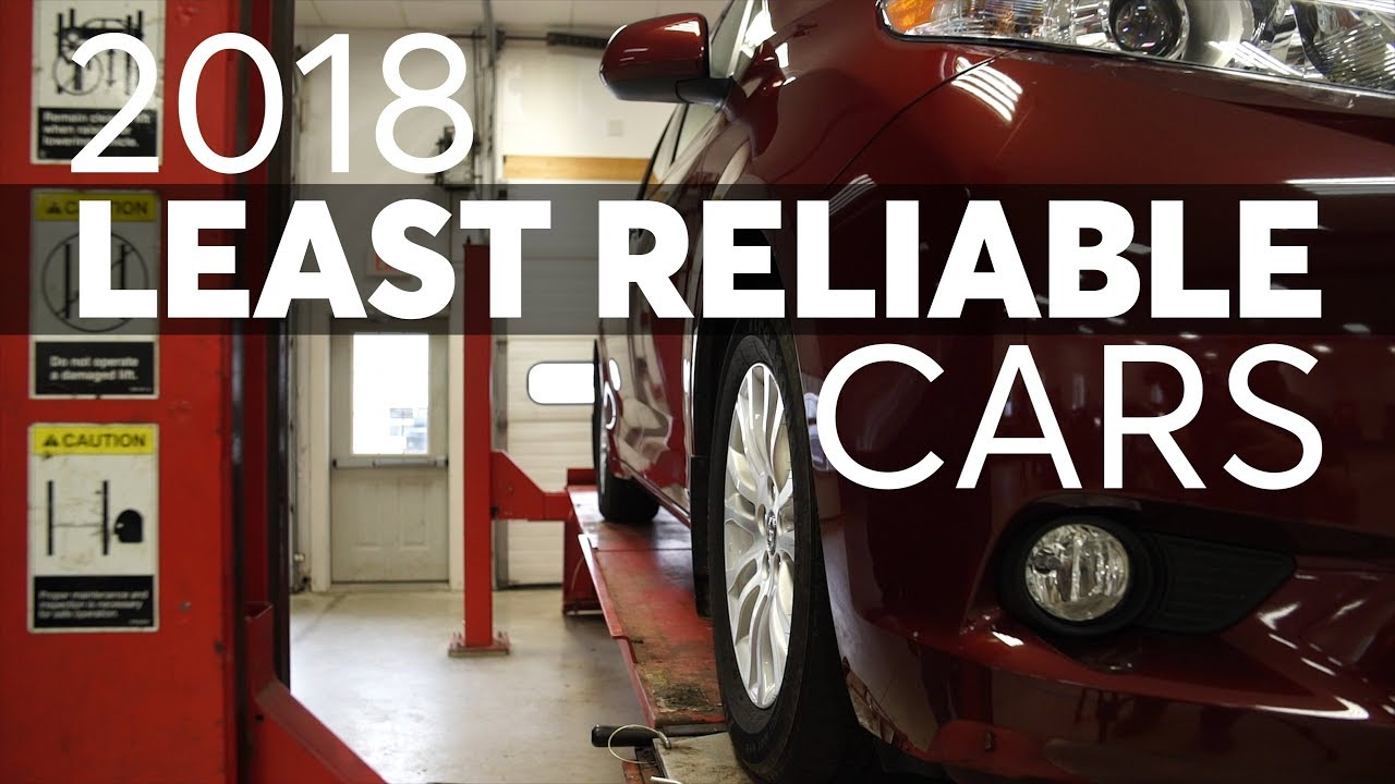 Least Reliable New Cars Of 2018 Consumer Reports