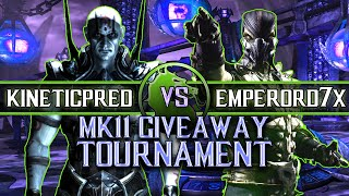 Mortal Kombat X: Kinetic Pred vs Emperor D7X - MK11 Copy Tournament Give Away (DOWN TO THE WIRE!!)