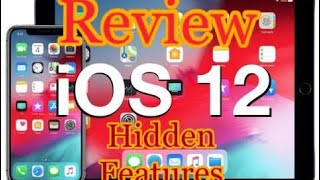 ios 12 finally released features and review| should u update | iphone ipad latest update ( hindi )