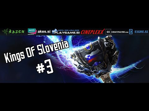 Kings of Slovenia #3 Finals. Crownies vs Team Zeta Game 3