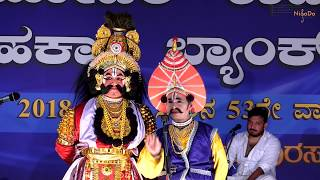 Krishnarjuna Yakshagana Part 4 - Arpita Hegde,  Dr. Shivakumar Begar, Sushma Vasishta, AP Pathak
