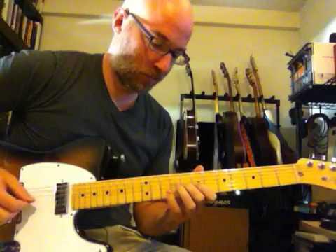 c7 bebop enclosure lick for guitar