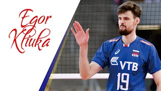 Top 30 Actions by EGOR KLIUKA   Russia Volleyball Hitter
