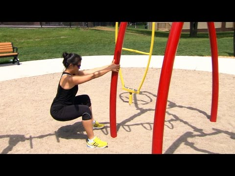 Turning your neighbourhood playground into an outdoor gym