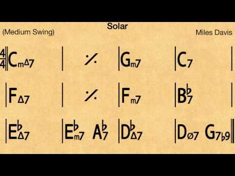 Solar - Backing track / Play-along