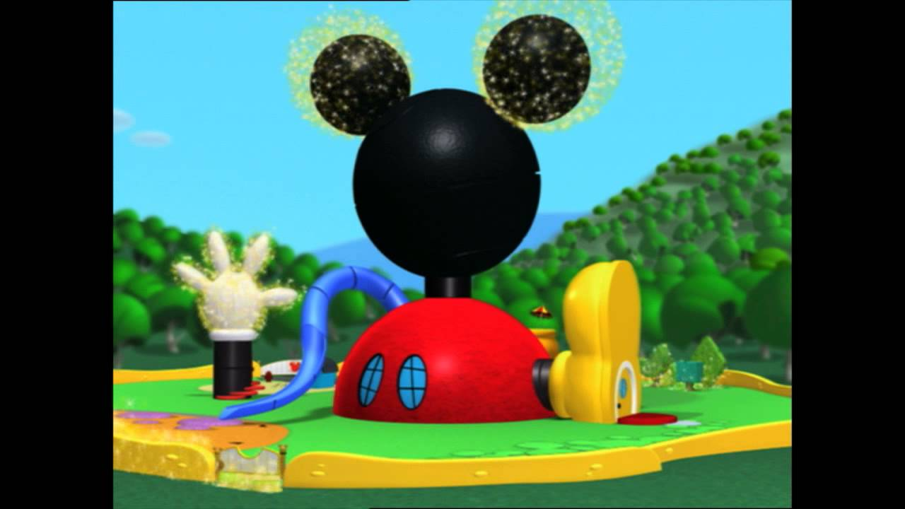 Disney junior espa a la casa de mickey mouse cabecera - La casa de la minnie ...