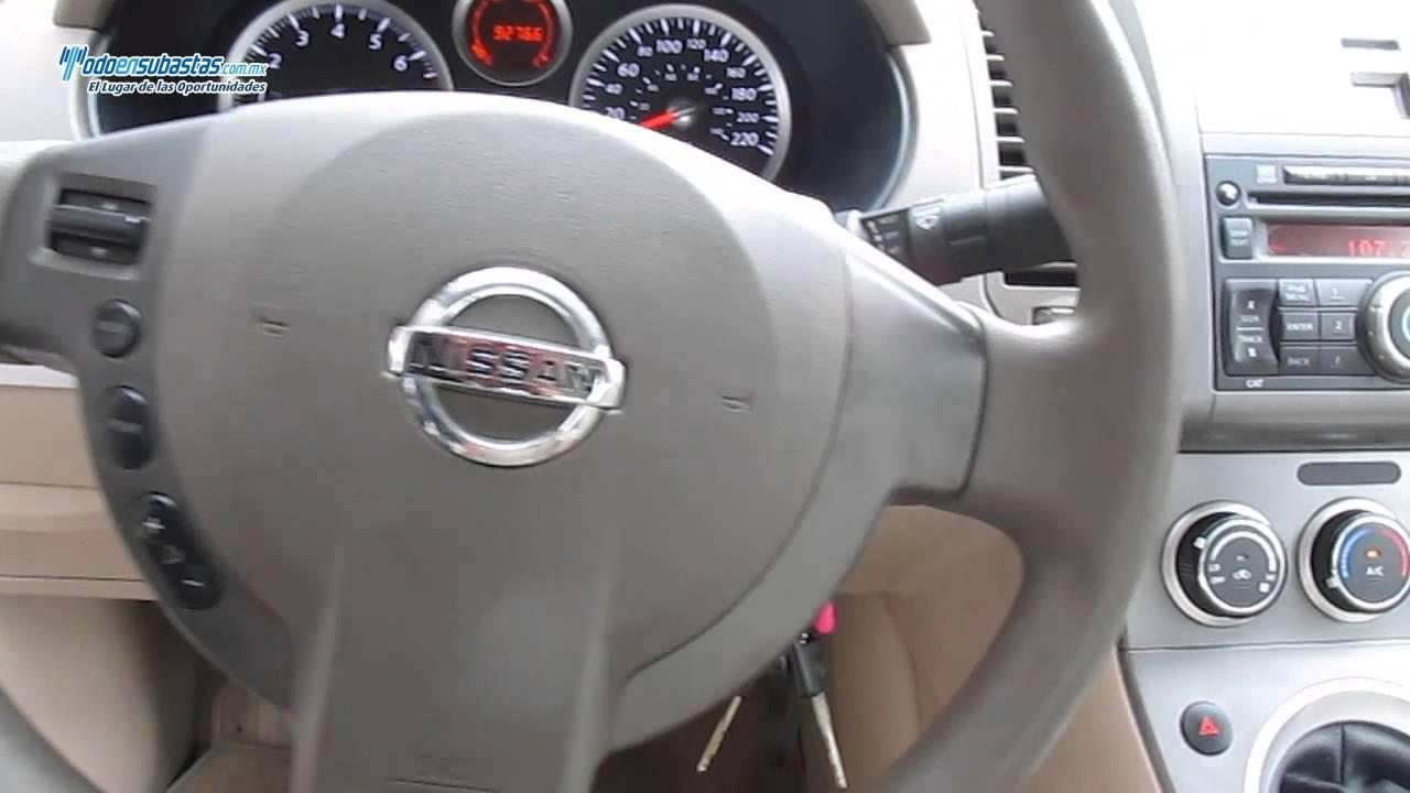 Nissan sentra custom 20 lts ee ba cd 2011 youtube nissan sentra custom 20 lts ee ba cd 2011 vanachro Images