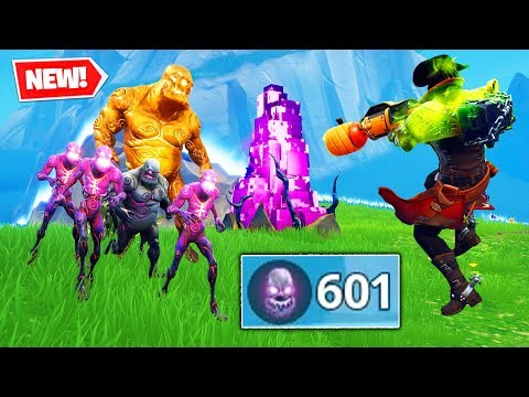 MAX ZOMBIE KILLS in Fortnite Battle Royale
